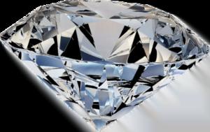Diamant geschliffen